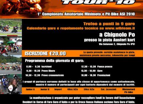 Settima locandina WLB Tour 2010