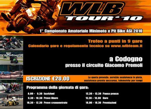 Prima locandina WLB Tour 2010