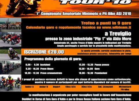 Seconda locandina WLB Tour 2010