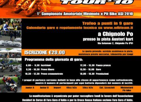 Terza locandina WLB Tour 2010