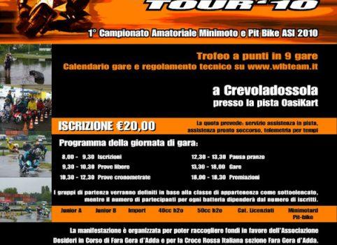 Quinta locandina WLB Tour 2010